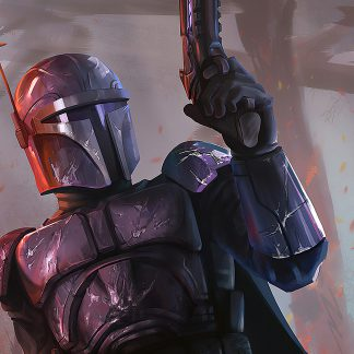 1 Panel Classical Mandalorian Multi Canvas Art
