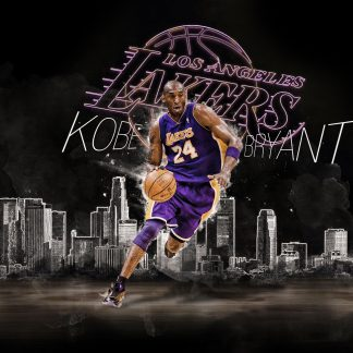 1 Panel Kobe Bryant Multi Canvas Art