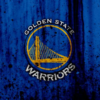 1 Panel Golden State Warriors Logo Multi Canvas Art