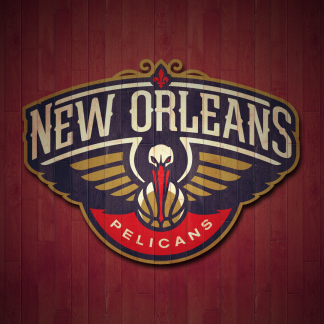 1 Panel New Orleans Pelicans Logo Multi Canvas Art
