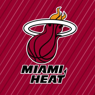 1 Panel Miami Heat logo Multi Canvas Art