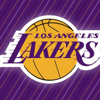 1 Panel Los Angeles Lakers logo Multi Canvas Art