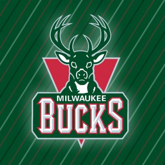 1 Panel Milwaukee Bucks Logo Multi Canvas Art