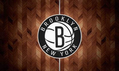 1 Panel Brooklyn Nets Logo Multi Canvas Art