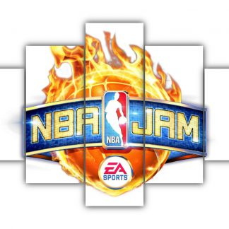 5 Panels NBA Jam Multi Canvas Art