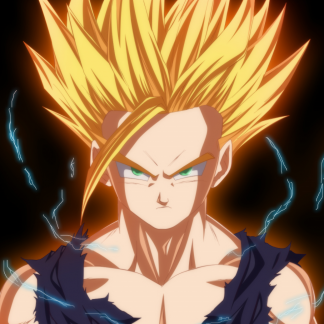 1 Panel Gohan SSJ2 Multi Canvas Art