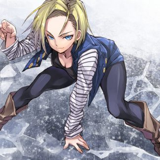 1 Panel Android 18 Multi Canvas Art