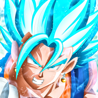 1 Panel Vegito Multi Canvas Art