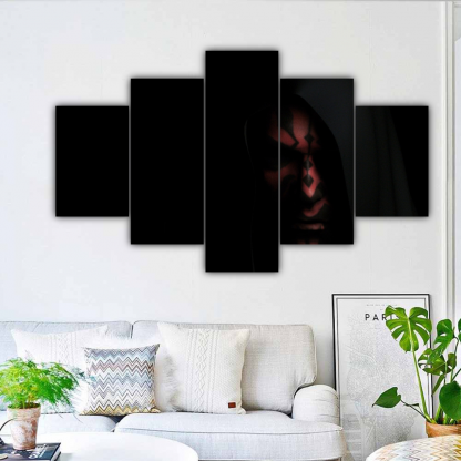 5 Panels Darth Maul Multi Canvas Art