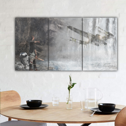 3 Panels Imagination of The Force Multi Canvas Art