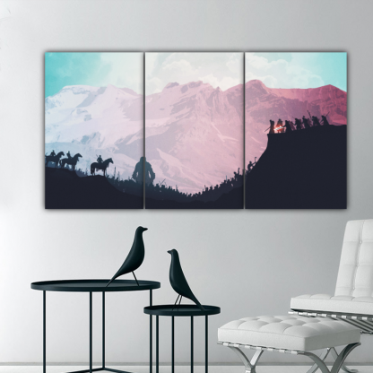3 Panels Proof for Daenerys Multi Canvas Art