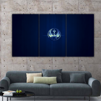 3 Panels Star Wars Jedi Order Multi Canvas Art
