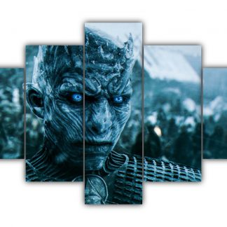 5 Panels The Night King Multi Canvas Art